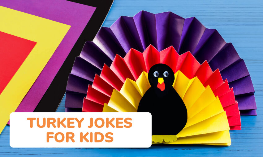 A collection of turkey jokes for kids.
