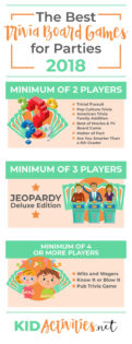 A collection of the best trivia board games for parties. Enjoy these two or more play trivia games including classic trivia games like Trivial Pursuit.