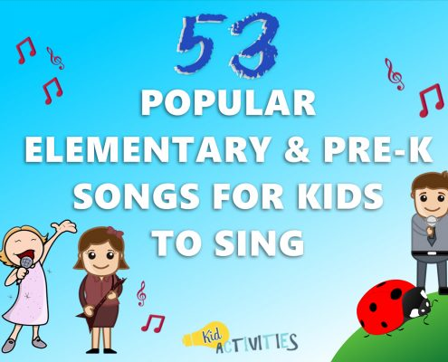 Popular Elementary & Pre-K Songs for Kids to Sing