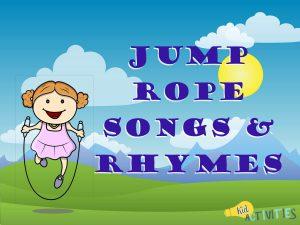 jump rope songs and rhymes