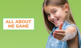 A collection of all about me games. Great for learning about others.