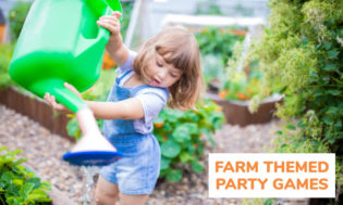 A collection of farm themed party games for kids.