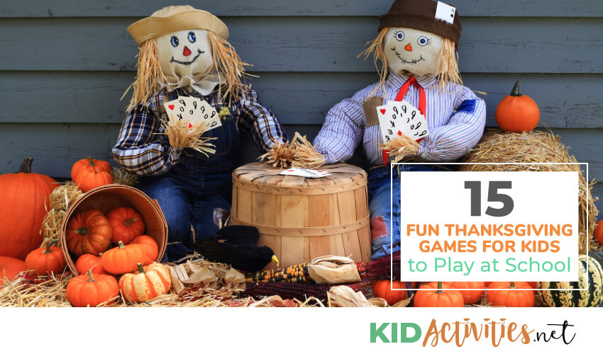 Fun Thanksgiving games to play at school