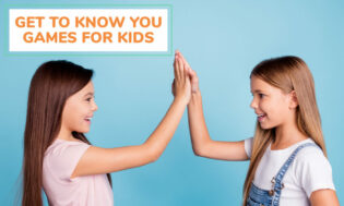 A collection of get to know you games for kids.