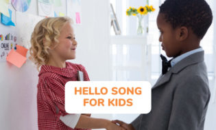 A collection of hello songs for kids to sing.