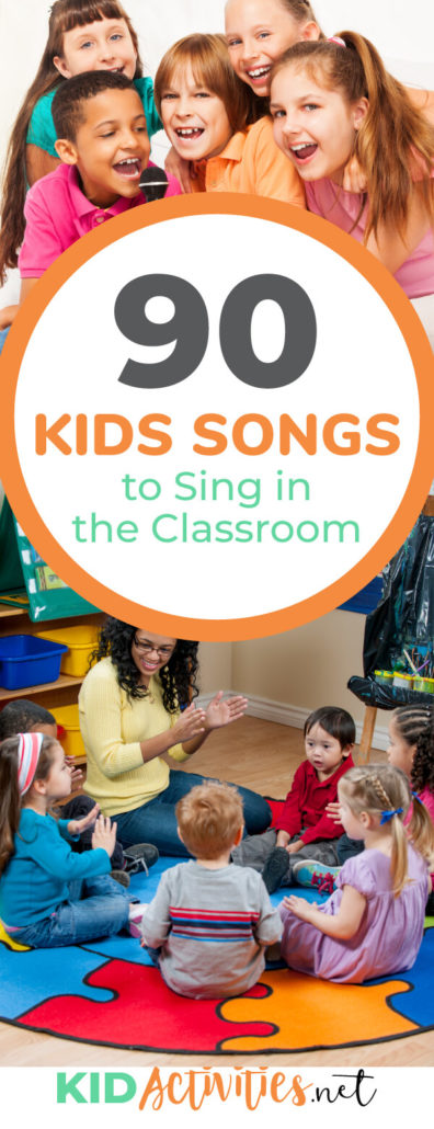 A collection of 90 songs for kids to sing at school. Songs can be a fun activity, a way to transition the class, or a way to boost the holiday spirit. You will find hello songs, winter time songs, Thanksgiving songs, and much more.