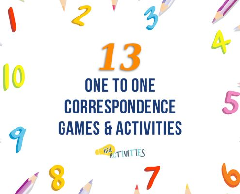 one to one correspondence games and activities for kids