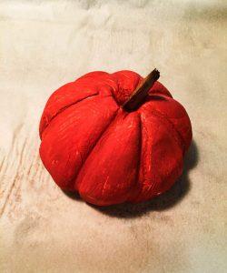 Halloween Salt Dough Pumpkins 4