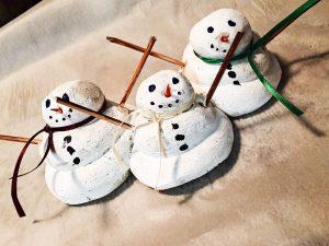 Salt Dough Snowman 3