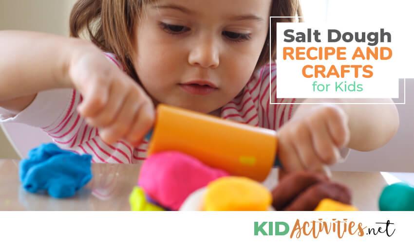 A collection of salt dough recipes.