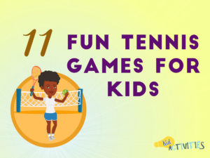 fun tennis games for kids