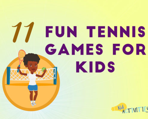 fun tennis games for kids