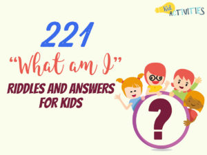 what am i riddles and answers for kids