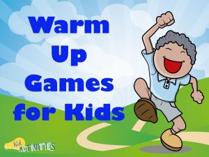 warm up games for kids