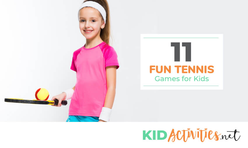 A collection of fun tennis games for kids.