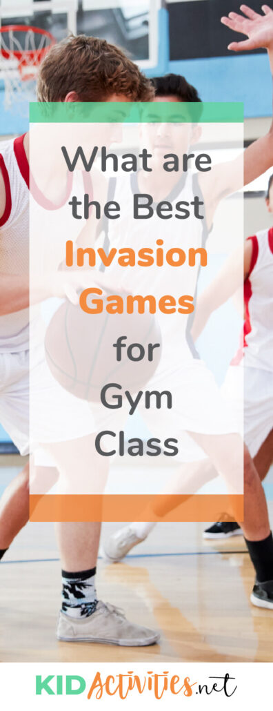 What are the best invasion games for gym class? We list out 7. These games are not only entertaining, they will provide a great deal of exercise.