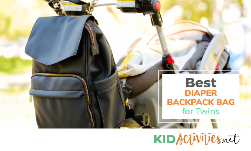 diaper bag backpack for twins
