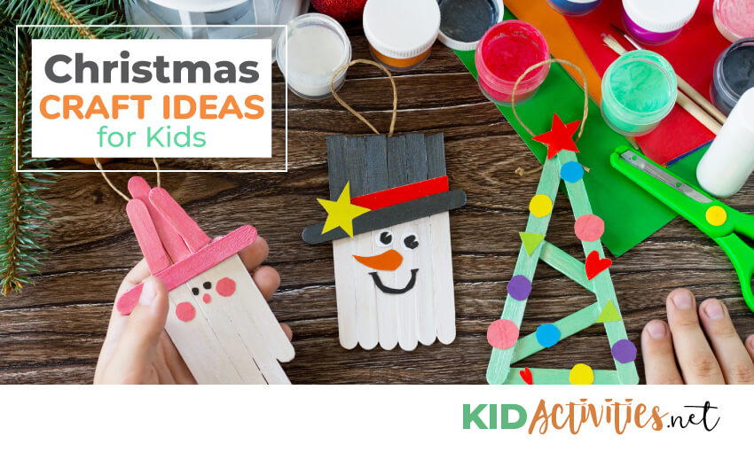 A collection of Christmas craft ideas for the classroom.