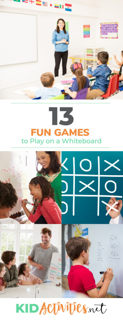 A collection of fun games to play on a whiteboard. Great for classroom activities.