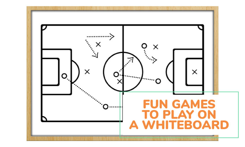 A collection of fun games to play on a whiteboard.