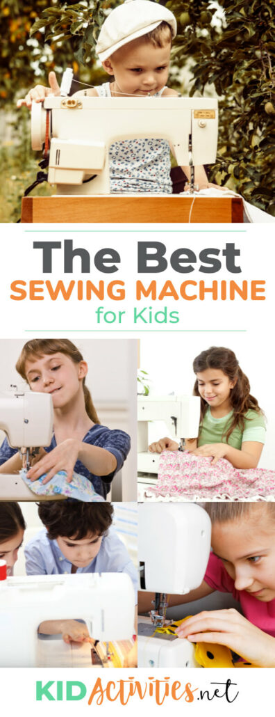 A collection of the best sewing machines for kids. Check out the ratings and features of these 5 kid appropriate sewing machines.