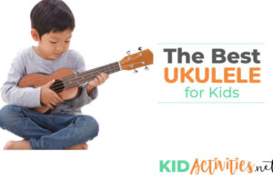 A collection of the best ukuleles for kids.