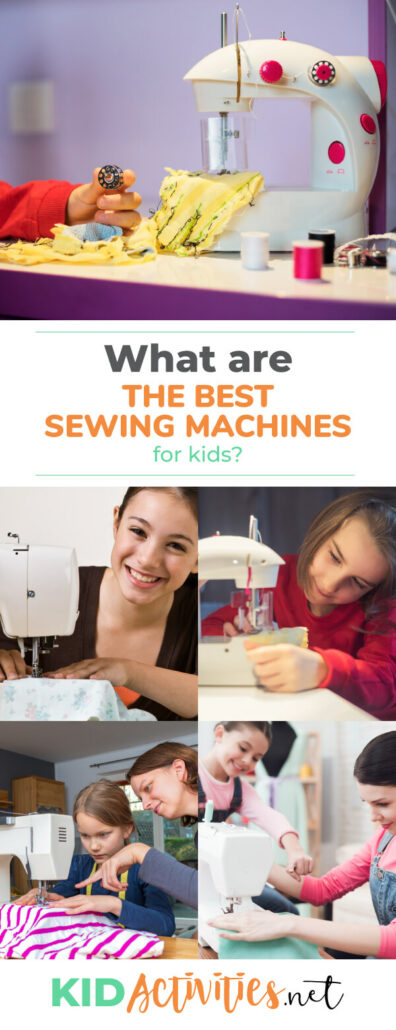 What are the best sewing machines for kids? Take a look at these 5.
