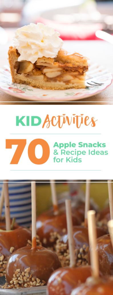 Apple recipes and ideas for kids