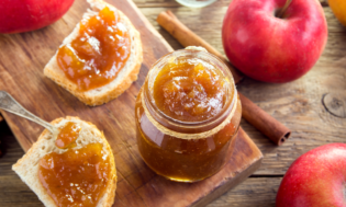 fall apple dips and spreads