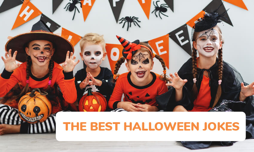 A collection of the best Halloween jokes for kids.