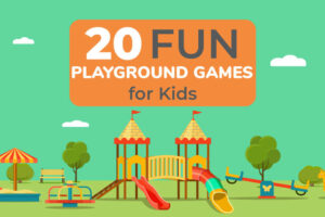 A collection of 20 fun playground games for kids. These playground game ideas include modern and classic games. The kids will enjoy getting outside and having fun.