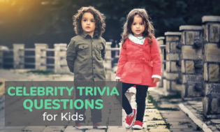A collection of celebrity trivia questions for kids. See if they know the answers to these kids celebrity questions.