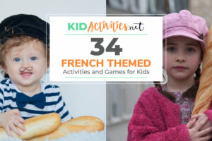 A collection of French themed games and activities for kids.