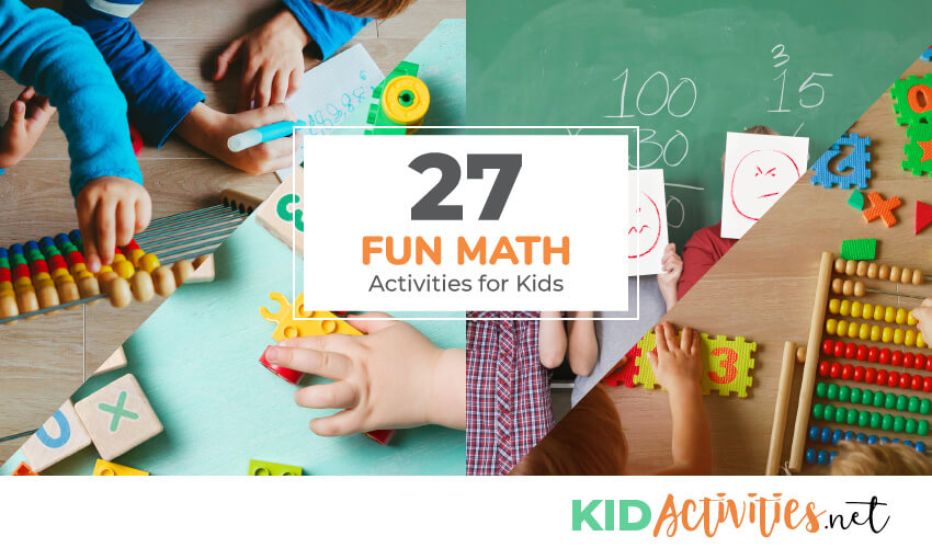 A collection of math activities for elementary kids.