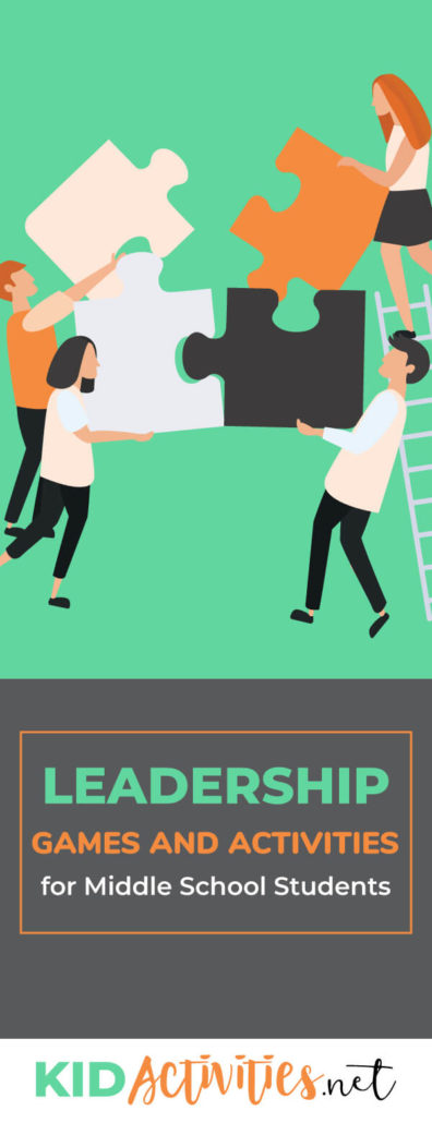 A collection of leadership games and activities for middle school students. Here you will find exercises, lesson plans, games, and many more activities to help develop students leadership abilities.