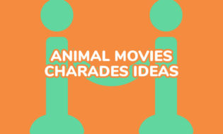 A collection of animal movie ideas for playing charades.