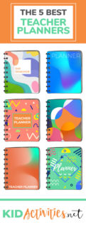 A collection of the best teacher planners to help you stay organized. Get detailed information to help you find the right planner for you. Get tips on how to stay organized with your planner as well.