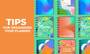 A collection of tips for organizing your teacher planner.