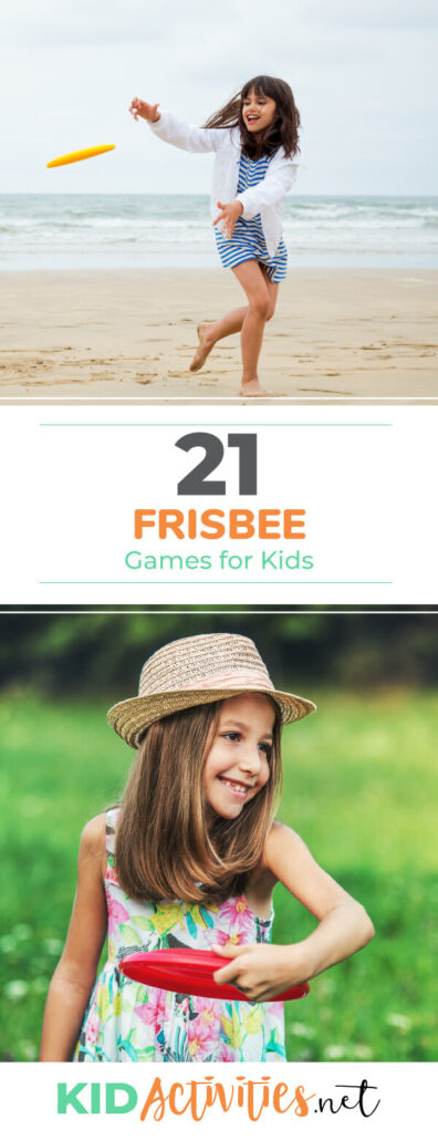 A collection of frisbee games for kids.