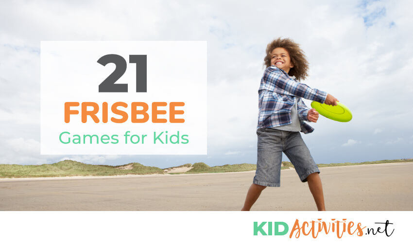 A collection of 21 frisbee games for kids. Great for playing at recess or during summer break.