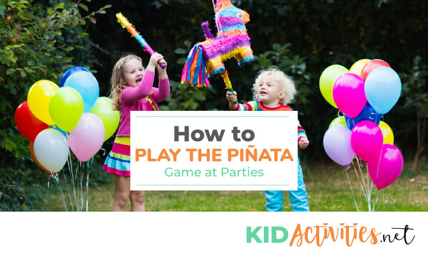 Learn how to play the piñata game.