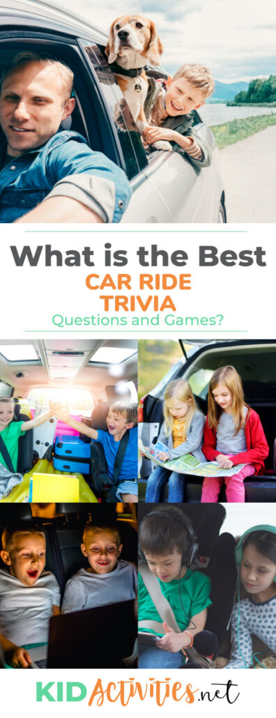 What are the best car ride trivia questions and games? We have compiled the list.