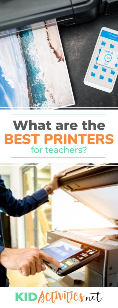 What are the best printers for teachers? We have a list of 5 printers ideal for teachers.