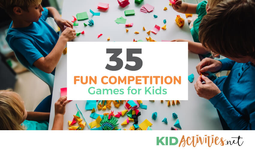 A collection of competition games for kids.