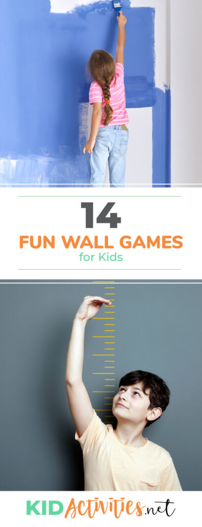 A collection of fun wall games for kids. These games can be great for gym class or any room with a wall.