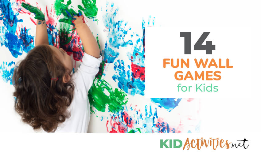 A collection of fun wall games for kids.