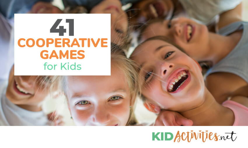 A collection of fun cooperative games for kids.