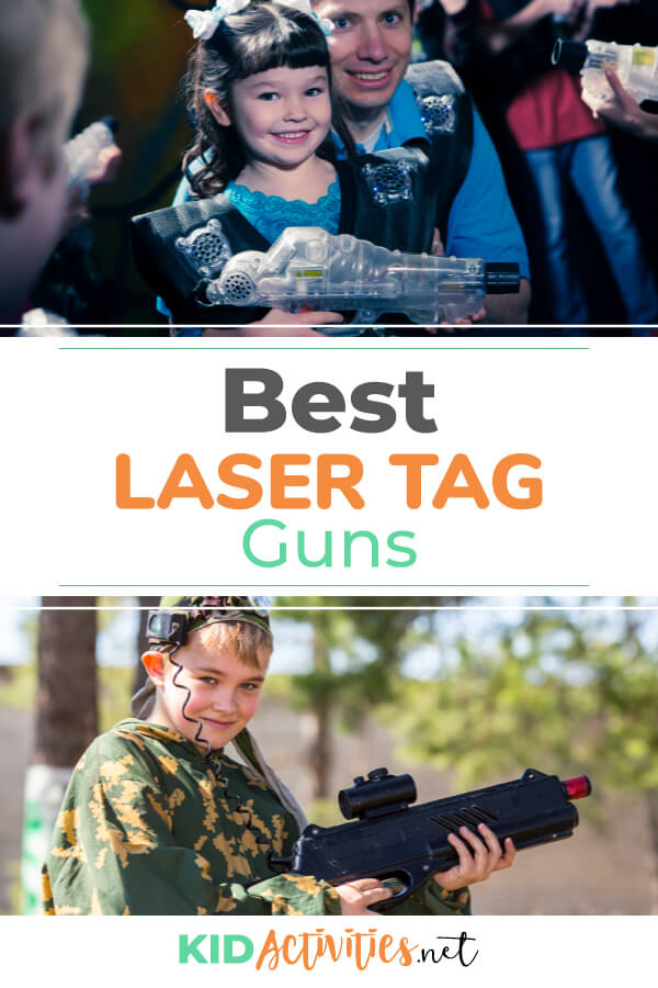 A guide comparing some of the best laser tag guns on the market.