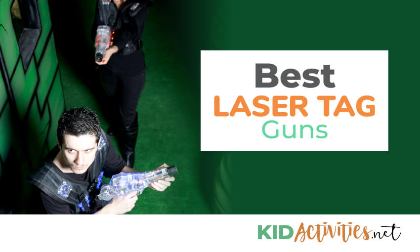A collection of the best laser tag guns.