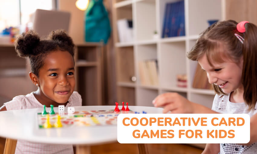 A collection of cooperative cards games for kids.